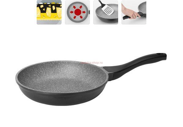 Сковорода с индукционным дном на газовой плите